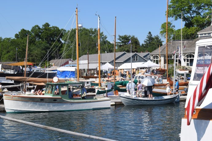 The 26th Annual WoodenBoat Show