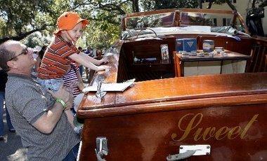 Wooden Boat Festival in Madisonville, Louisiana.