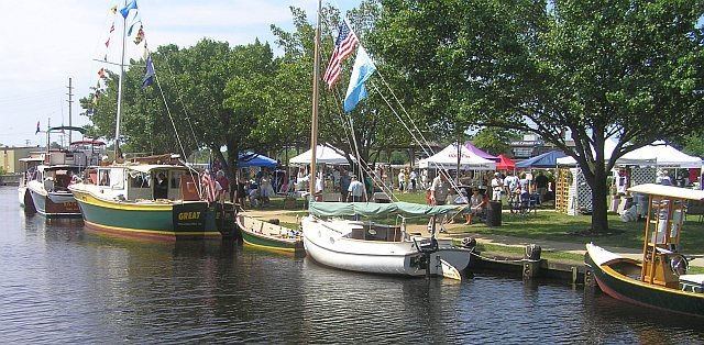 Toms River Seaport Society's Annual Wooden Boat Festival