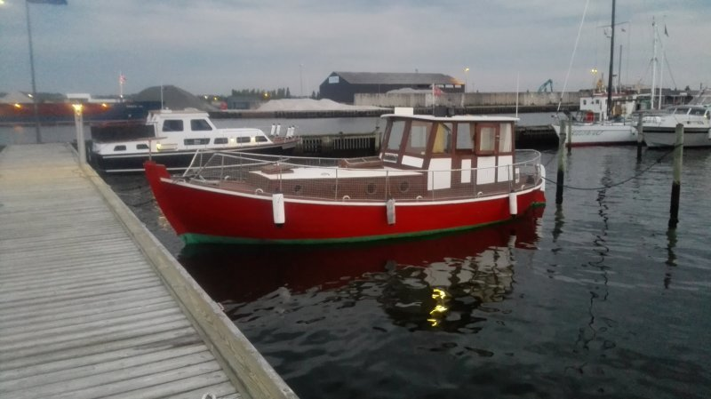 M/S LIBERAL, former Danish oil supply boat