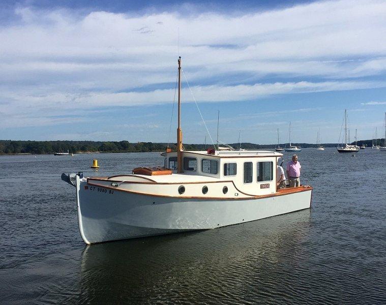 Olga 28 trailerable trawler