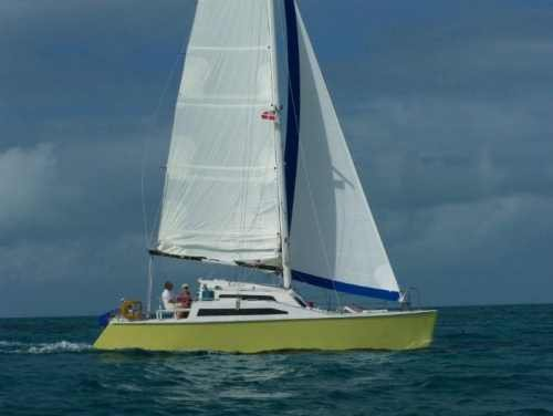 34ft Romany sailing catamaran