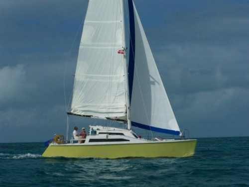 34ft Romany sailing catamaran