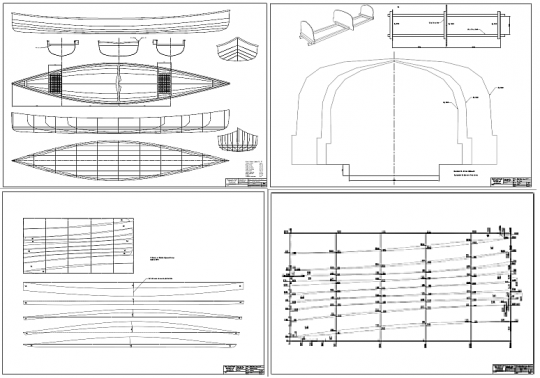 "Above it says ""The plans include general and lines drawing, jig frame drawing, plywood planks ..."