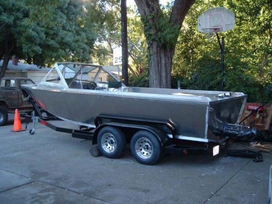 Aluminum fishing boats plans