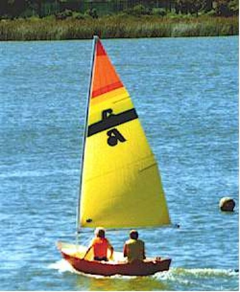 Argie 10 3:1 sailing dinghy