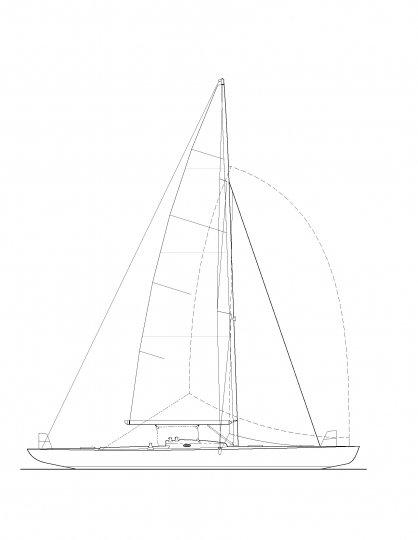 K-42 Sail Plan