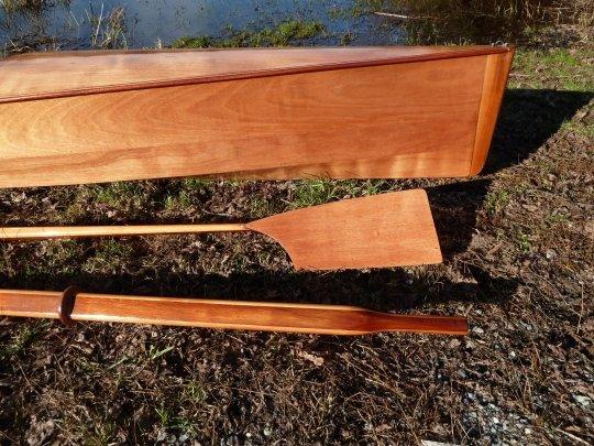 Wooden Rowing Oar