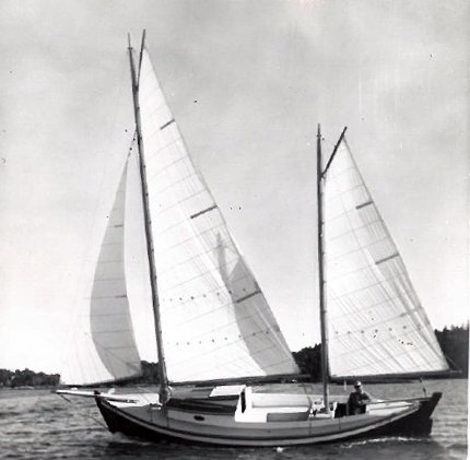 26 foot Auxiliary Ketch