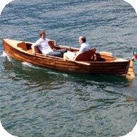 16 foot open motor boat