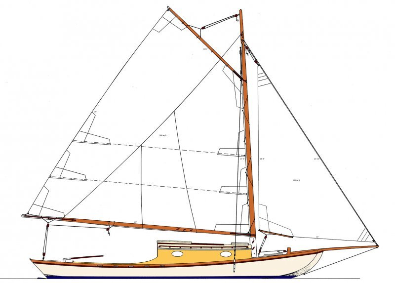 Garvey 33 Sail Plan