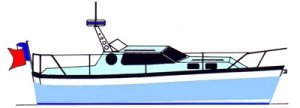 WAVERUNNER 25 CRUISER STEEL PLANS
