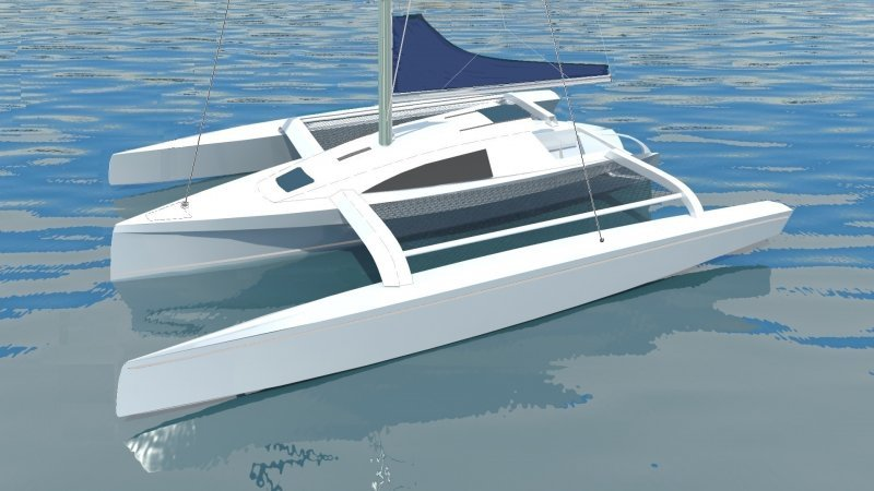 model row boat plans: Wooden Trimaran Boat Plans