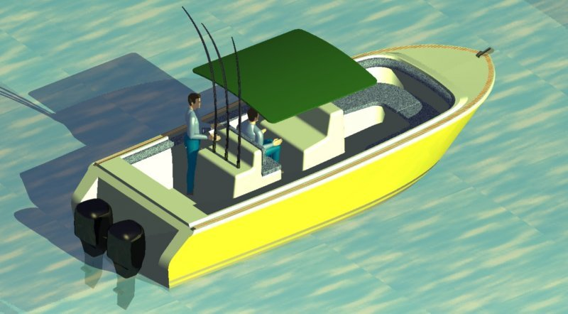 MAC 75 fishing boat