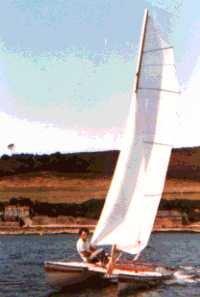 Pixie sailing catamaran