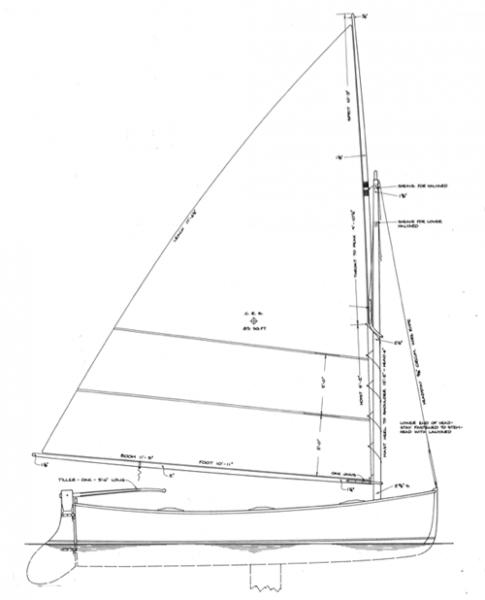 Goeller 12' Dinghy profile