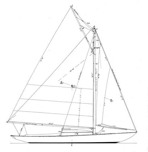 25' Dark Harbor 17 1/2 profile
