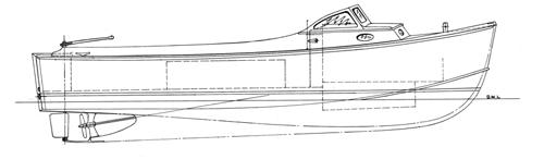 25' Bassboat profile