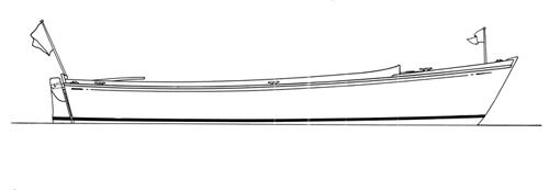 """18' 7"""" Utility Launch, BARBARA ANNE profile"""