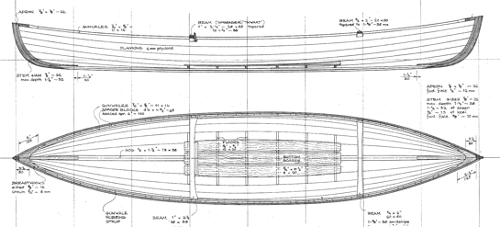 12'  WEE ROB Canoe profile