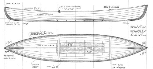 12'  WEE ROB Canoe profile