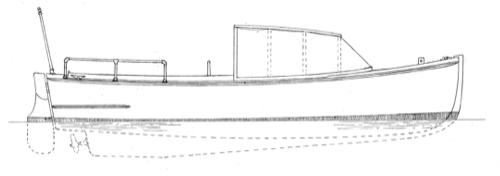20'  Spalding Utility Launch profile