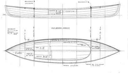 Stickleback Canoe profile
