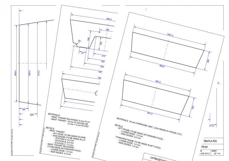 Woodworking wooden optimist plans PDF Free Download