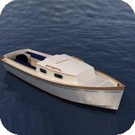 Rustica 570 is a cabin motor boat