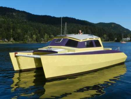 tug boat building plans, a boat for sale, wood power catamaran plans ...