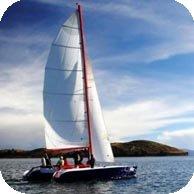 9-meter sailing catamaran