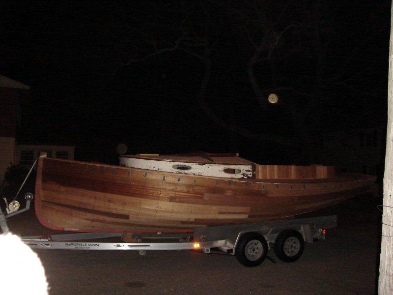 Charles Crosby Catboat Valiant