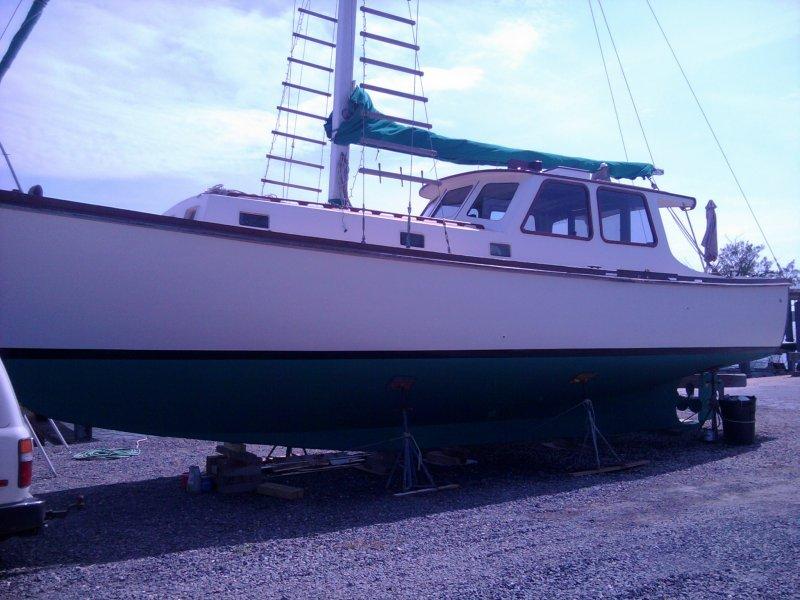 Krogen 42 foot Motorsailor