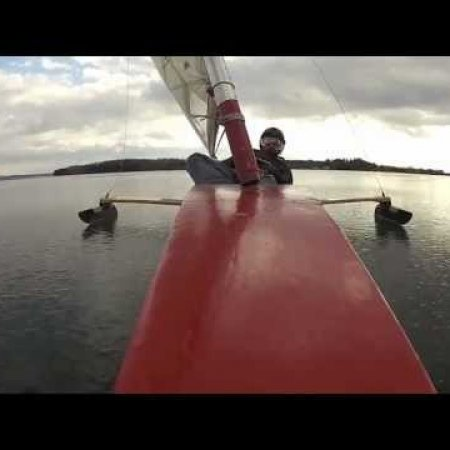 dn ice sailing at Ladd's Landing #2