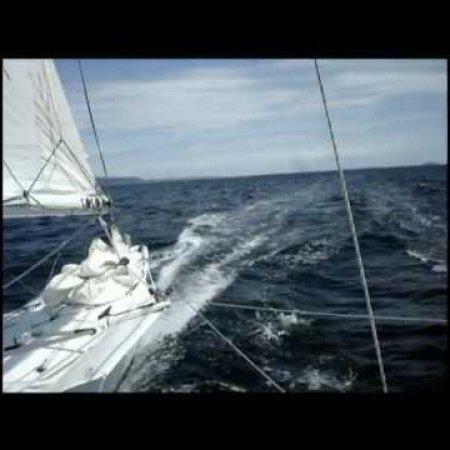 Pacific Proa JZERRO sailing at 17.8 knots (720p HD!)