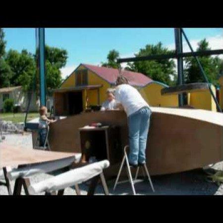 Argonaut Jr 2010 - Recreating Simon Lake's Wooden Submarine