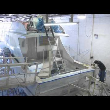Jeff Burton 46' Boat Construction Time Lapse  (4 of 4)