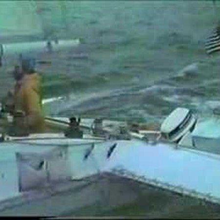 Sailing Moxie Around Martha's Vineyard in 4h and 55m