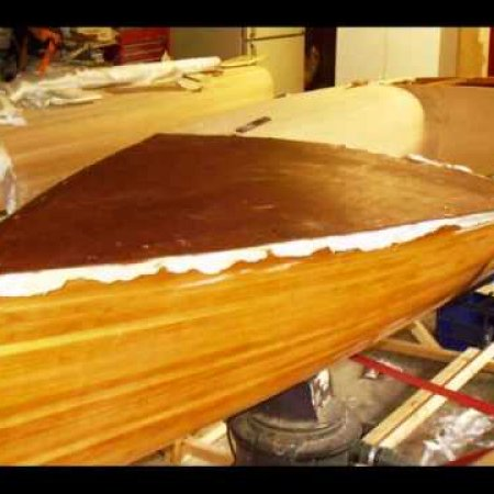 Boat Building; Wood strip Classic Moth