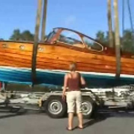 Classic Swedish Wooden Boat (1)