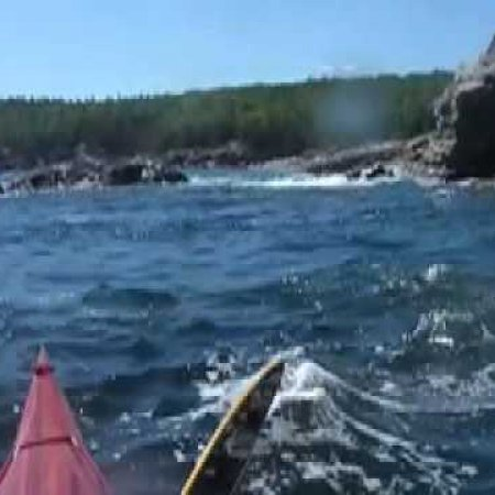 Sea Kayaking along the Mt Desert Island Shore