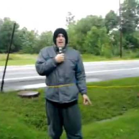 Hurricane Irene Hits Milford Maine