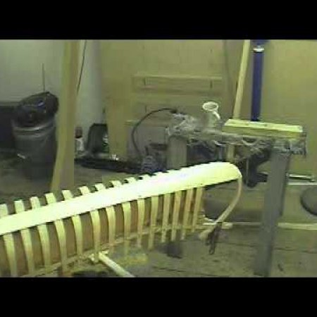 wooden canoe building part5