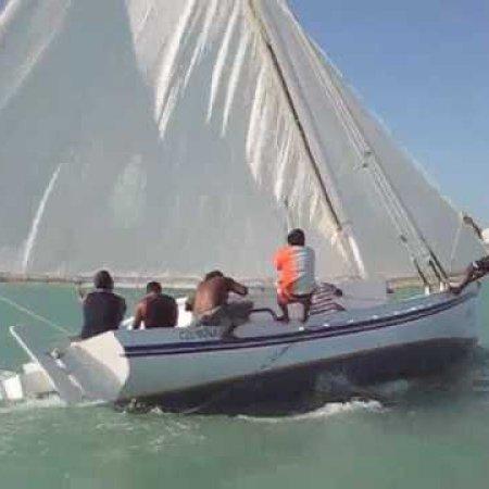 Sarteneja Belize, traditional wooden boats