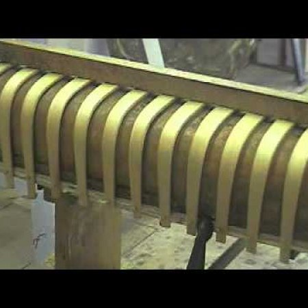 wooden canvas canoe building part3