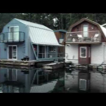 Float Homes Maple Bay Vancouver Island Canada part 1