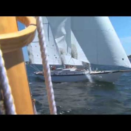 """07-07-07, Amorita's Unlucky Day""  Film trailer about the crash & rebuild of the 1905 racing yacht"