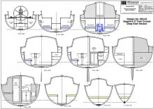 Sapphire 27 Interior Sections