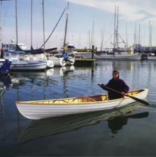 Paddling the canoe — Simon Watts