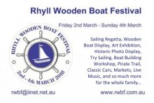 Rhyll Wooden Boat Festival, Phillip Island, Victoria